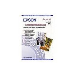 EPSON - Watercolour Paper Radiant White, A3, 120g, 20 listů