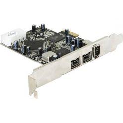 DeLock PCI Express x1 FW A+B 2+1 Port