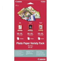 Canon VP-101, fotopapír 10x15cm, Variety Pack, 20 listů