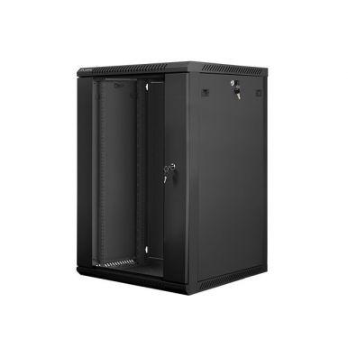 Nástěnný rack 19'' 18U 600X600mm černý