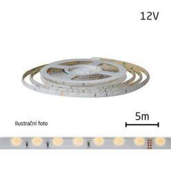 LED pásek 12V 335 (boční) 60LED/m IP65 max. 4.8W/m bílá teplá (cívka 5m) zalitý