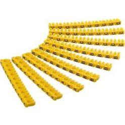 goobay Označovací klipy na kabel do průměru 6mm, písmena A,B,C