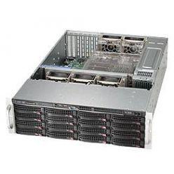 SUPERMICRO 3U skříň CSE-836BA-R920B, 2x920W zdroj 80+ Platinum