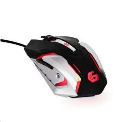 Myš GEMBIRD MUSG-07, herní, optická, programovatelná, 3200DPI, USB