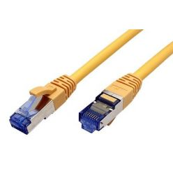 S/FTP patchkabel kat. 6a, LSOH, 2m, žlutý