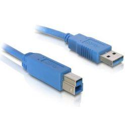 Delock USB 3.0 kabel A samec/ B samec délka 1,8 m