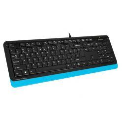 A4tech FK10 FSTYLER, klávesnice, CZ, USB, černo-modrá