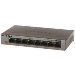 Netgear GS308 8-port Gigabit switch, kovový
