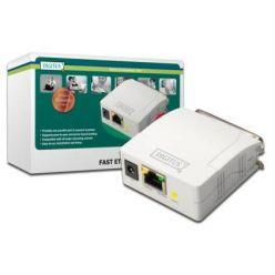 DIGITUS DN-13001-1 Ethernet print server, 1x paralelní port