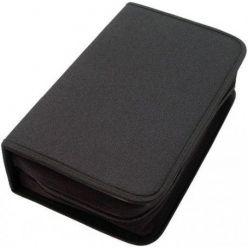 Pouzdro na CD/DVD- 128ks, zapínací černé