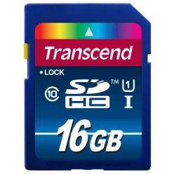 Transcend 16GB SDHC karta, Class 10, UHS-I, 300X (90/25MB/s)