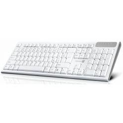 CONNECT IT Multimediální bezdrátová klávesnice, CZ, bílá