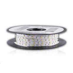 Whitenergy LED pásek (50m, 7.2W/m, IP20, 10mm, studená bílá)