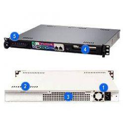 Supermicro SC513F-350 mini1U ATX, 1HDD, 350W(24p), front I/O, černý
