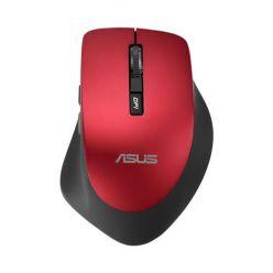 ASUS WT425, bezdrátová optická myš, 1600dpi, červená