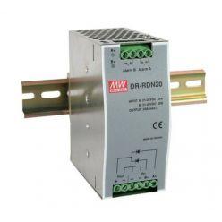 MEANWELL • DR-RDN20 • Průmyslový redundantní modul 30V 20A na DIN lištu