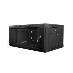 Nástěnný rack 19'' 4U 600X450mm černý