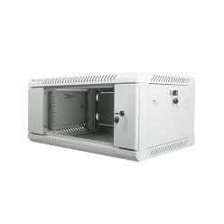 Nástěnný rack 19'' 4U 600X450mm šedý
