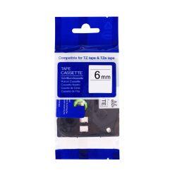PRINTLINE kompatibilní páska s Brother TZE-611, TZ-611, 6mm, černý tisk/žlutý podklad