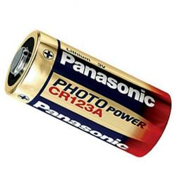 Panasonic Lithium CR123A, 3V, 1ks, blistr