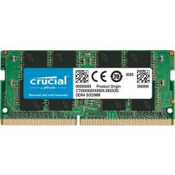 Crucial 16GB DDR4 2666MHz CL19, SO-DIMM, 1.2V