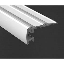 Hliníkový profil Prowax STEP KPL-ALU anodizovaný s protiskluz. gumou - 1m
