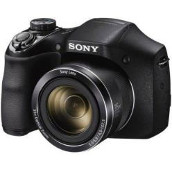 "SONY DSC-H300B, 20MPx, 35x zoom, 3"" LCD, černý"