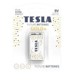 Tesla 9V GOLD+ alkalická, 1 ks, ND