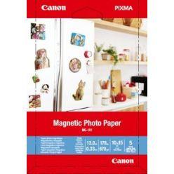 Canon MG-101 Magnetický fotopapír 10x15cm, 670g, 5 listů