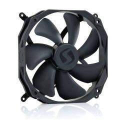 SilentiumPC Sigma Pro, ventilátor 140x25mm, 500-1400rpm, 8-22dBA, PWM