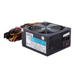Eurocase 650W ATX zdroj, aPFC, 14cm FAN, 3x SATA, 3x molex, 2x PCIe