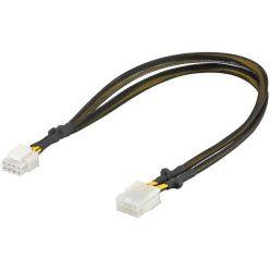 Prodlužovací kabel PCI Express 8pinů F -> 8pinů M, 44cm