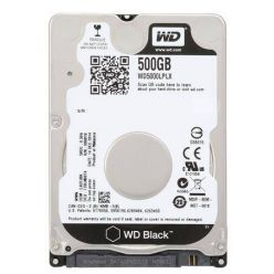 "WD Black 500GB, 2.5"" HDD, 7200rpm, 32MB, SATA III, 7mm"