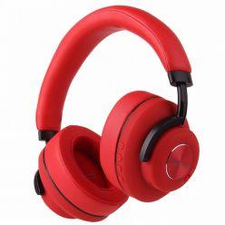 EVOLVEO SupremeSound 4ANC, BT, bezdrátová sluchátka s mikrofonem, ANC, červená