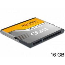 Delock 16GB CFast karta, typ MLC