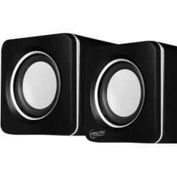ARCTIC S111 (Black) - Portable USB powered speakers