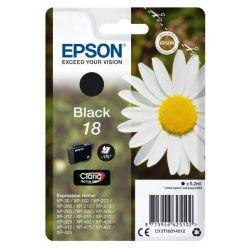 Epson inkoustová náplň/ T1801/ Singlepack 18 Claria Home Ink/ Černá