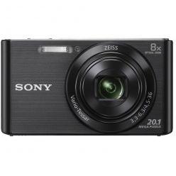 """SONY DSC-W830B, 20MPx, 8x zoom, 2.7"""" LCD, černý"""