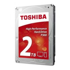 "Toshiba P300 2TB, 3.5"" HDD, 7200rpm, 64MB, NCQ, AF, SATA III, bulk"