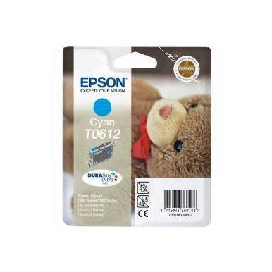 Epson T0612, azurová inkoustová cartridge, 8ml