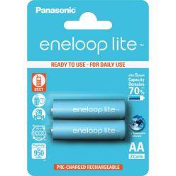 Panasonic eneloop lite, AA, Ni-Mh, 2ks, 950mAh, 3000 cyklů