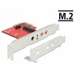 Delock PCI Express Karta > 1 x interní M.2 Key E - Low Profile