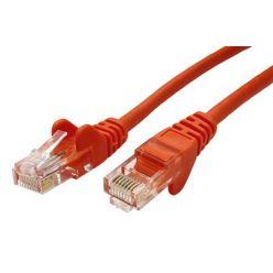 Patch kabel UTP RJ45-RJ45 level 5e 1,5m oranžová