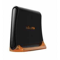MikroTik RouterBOARD RB931-2nD, hAP mini, 650Mhz CPU, 32MB RAM, 3xLAN, 2.4Ghz 802b/g/n, ROS L4, case, PSU