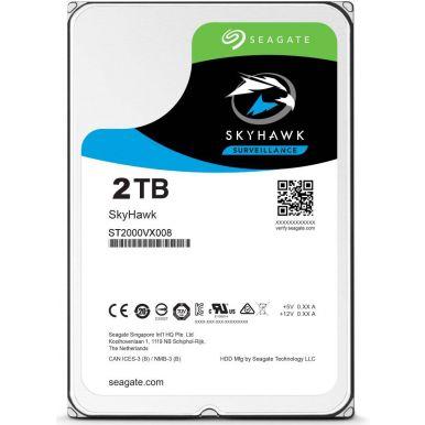 """Seagate SkyHawk 2TB, 3.5"""" HDD, 5900rpm, 64MB, SATA III"""