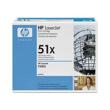 HP Q7551X, černý toner