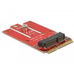 Delock Adaptér Mini PCIe > M.2 slot Key E