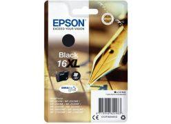 Epson 16XL černá inkoustová cartridge, 12.9ml, T1631