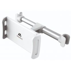 MISURA držák tabletu a mobilu do auta bílo stříbrný
