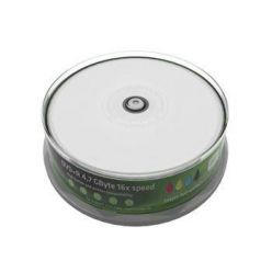 MediaRange DVD+R disky, 4.7GB, 16x, wide printable, 25ks, spindl